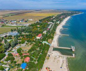 Пляж в сторону Юрьевки